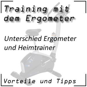 Ergometer vs. Heimtrainer