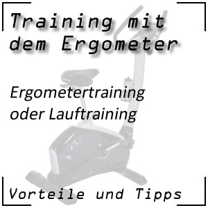 Ergometer oder Lauftraining