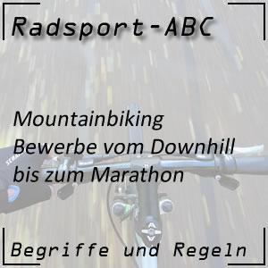 Mountainbiking und die Bewerbe