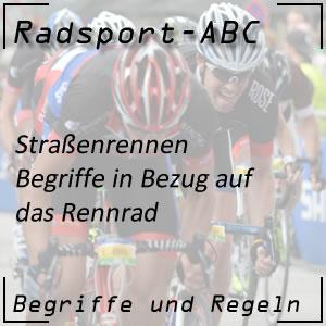 Begriffe: Rennrad