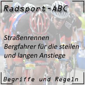 Radsport Bergfahrer