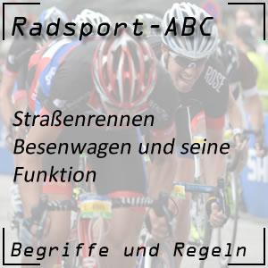Radsport Besenwagen