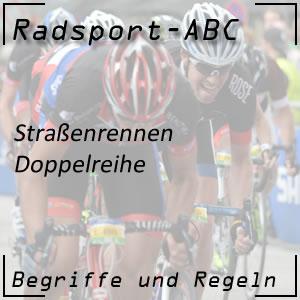 Radsport Doppelreihe