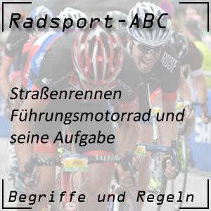 Radsport Führungsmotorrad