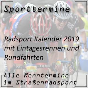 Radsport Kalender