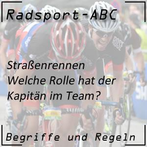 Radsport Kapitän