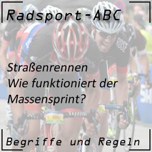 Radsport Massensprint