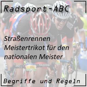 Radsport Meistertrikot