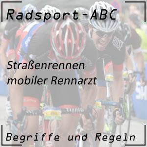 Radsport mobiler Rennarzt
