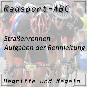 Radsport Rennleitung