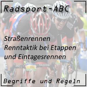 Radsport Renntaktik im Straßenrennen