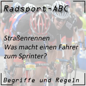 Radsport Sprinter