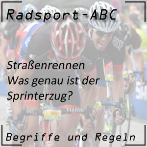 Radsport Sprinterzug