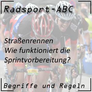 Radsport Sprintvorbereitung