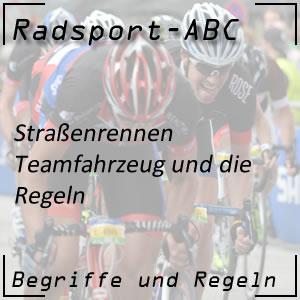 Radsport Teamfahrzeug