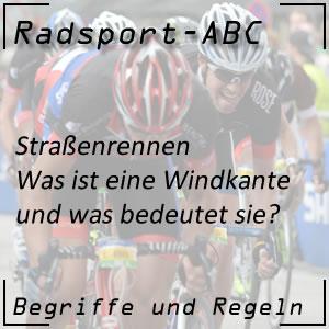 Radsport Windkante