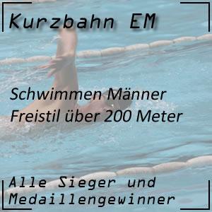 Kurzbahn EM Freistil 200 m Männer