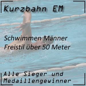 Kurzbahn EM Freistil 50 m Männer