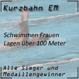 Kurzbahn EM Lagen 100 m Frauen