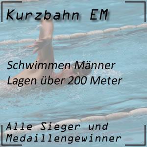 Kurzbahn EM Lagen 200 m Männer