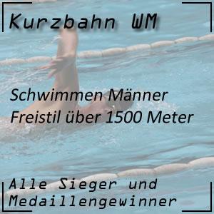 Kurzbahn WM Freistil 1500 m Männer