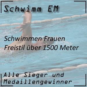 Schwimm EM Freistil 1500 m Frauen