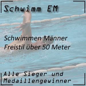 Schwimm EM Freistil 50 m Männer