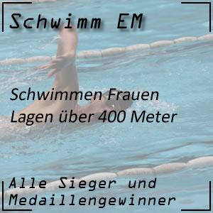 Schwimm EM Lagen 400 m Frauen