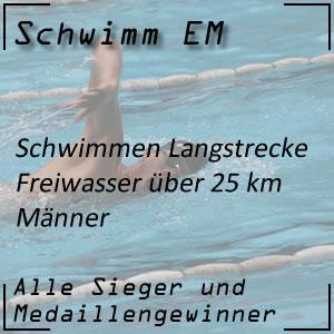 Schwimm EM Open Water 25 km Männer