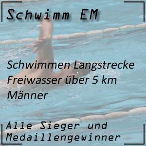 Schwimm EM Open Water 5 km Männer