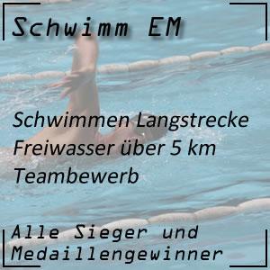Schwimm EM Open Water Team