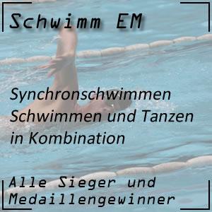 Schwimm EM Synchron