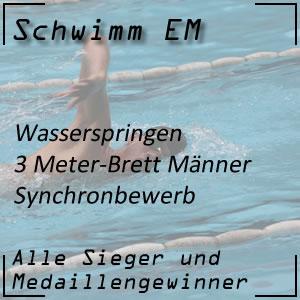 Wasserspringen EM 3 m synchron Männer