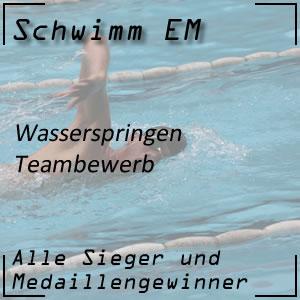 Wasserspringen EM Team