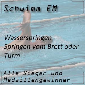 Schwimm EM Wasserspringen