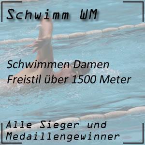 Schwimm WM Freistil 1500 m Frauen