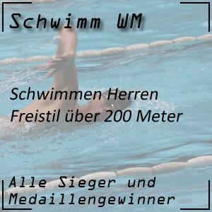 Schwimm WM Freistil 200 m Männer