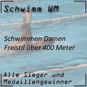 Schwimm WM Freistil 400 m der Frauen