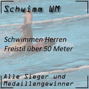 Schwimm WM Freistil 50 m Männer