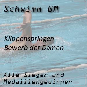 Schwimm WM Klippenspringen Frauen