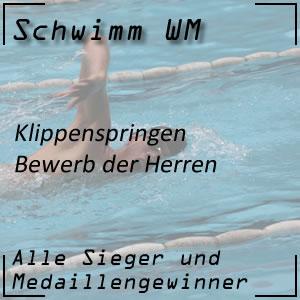 Schwimm WM Klippenspringen Männer
