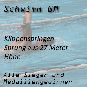 Schwimm WM Klippenspringen