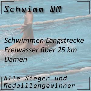 Schwimm WM Open Water 25 km Frauen