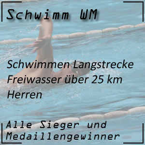 Schwimm WM Open Water 25 km Männer