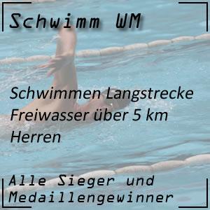 Schwimm WM Open Water 5 km Männer