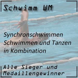 Schwimm WM Synchronschwimmen