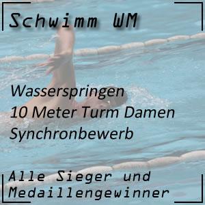 Wasserspringen 10 m Synchron Frauen