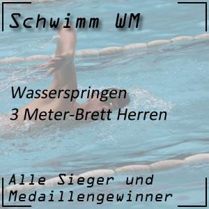 Wasserspringen 3 m Männer