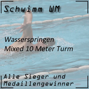 Wasserspringen 10 m Mixed