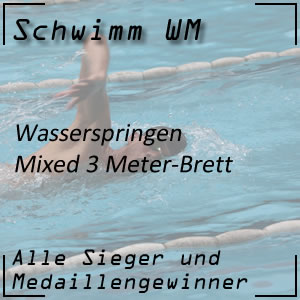 Wasserspringen 3 m Mixed